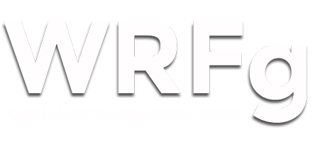 WRFg - GPU Accelerated WRF